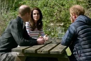 哈里王子与兄嫂谈丧母 曾拒回想戴安娜