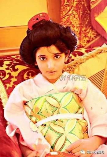 世界最美的迪拜公主长大后的样子