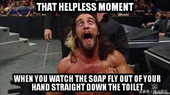 WWE塞斯罗林斯最神奇的一组图,罗曼并不喜欢赛斯
