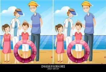 找不同,5张图找到20处不同,才算是正常人水平