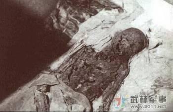 慈禧墓被盗后历史照片 慈禧变干尸的真相图片