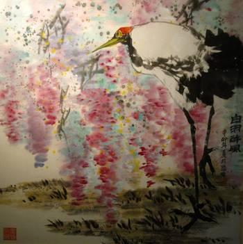 花鸟画作品欣赏