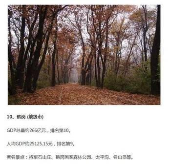 黑龍江省貧富城市大排名 你家排第幾?_hao1