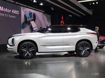 17上海车展 三菱GT PHEV概念车发布高清图片