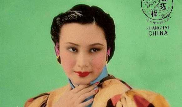 她是民国电影皇后,也是民国第一美女!