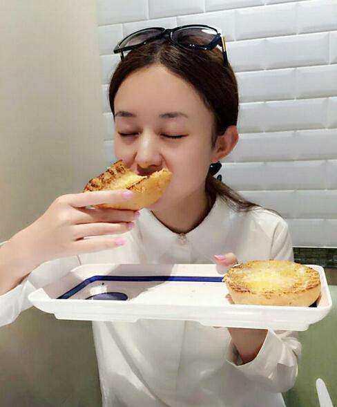 吃货赵丽颖怎么吃都不胖,原来她有这么简单的不胖秘诀