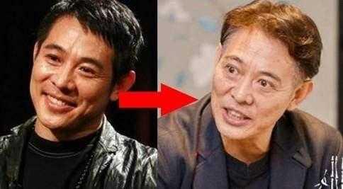 功夫明星李连杰面容苍老, 想不到另一个功夫明星比他还惨, 他是谁?