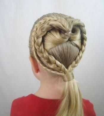 女生可爱好看的编发发型,好妈妈不要错过!