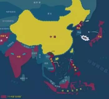 新● 世界地图脑洞大开,新加坡成中国邻国!