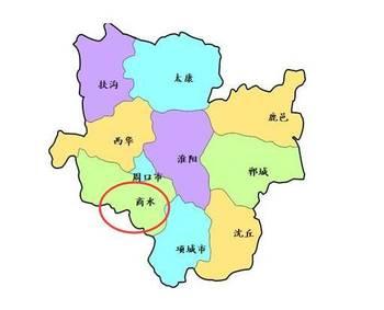 南省周口市华西县有多少人口