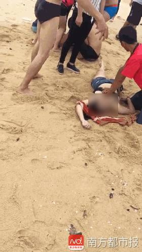 非泳区溺水一日两宗!阳江海陵岛游客4死1失踪, 直升机
