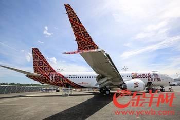 首架波音737max型号飞机交付 马印航空率先投运