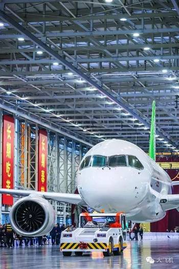 重磅!国产大飞机c919计划于本月五日进行首飞