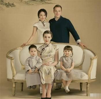 马雅舒和女儿米娅被骂惨 都靠这2张高颜值全家福洗白