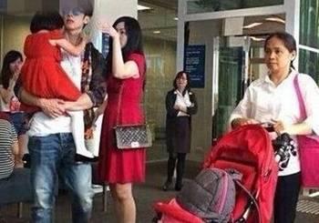 看了吴尊老婆的生活照,你就知道吴尊为啥不晒老婆了