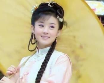 古装影视剧中的撑伞女子,林心如唐宁赵丽颖,谁最美如画?
