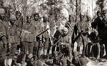 二战时,全亚洲都忙着抵抗日本的侵略,那么作为大国的印度在干吗呢?