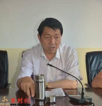 宝塔区副区长王文忠深入柳林镇检查指导工作