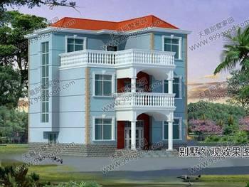 三層農村自建房10x12米別墅設計 家居風水臥室不宜正對浴廁