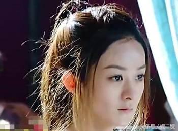 赵丽颖楚乔传最美发型分享展示图片
