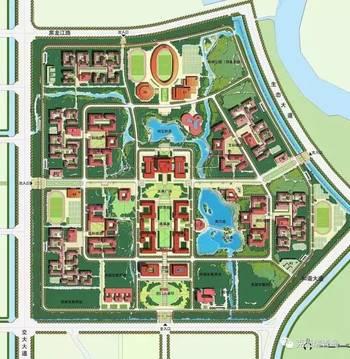 备受关注的青岛大学胶州校区概念性规划设计