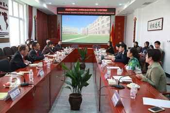 西班牙华人华侨协会会长一行到访青岛格兰德