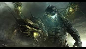 据外国媒体报道,2014年的怪兽大片《哥斯拉》续集《哥斯拉:怪兽之王》