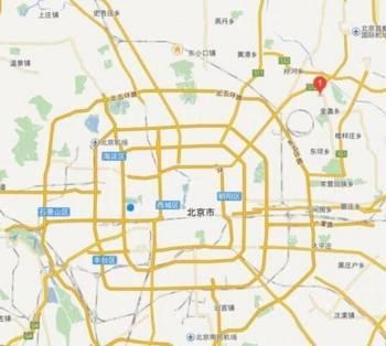 北京市蟹岛度假村附近发生火灾