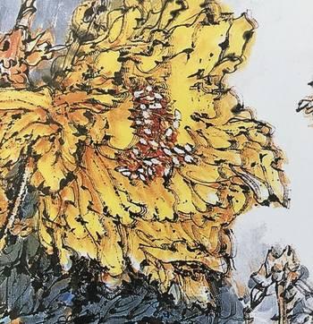 《宋扇面画牡丹图》是宋代时期的一副画作,现收藏于北京故宫博物院.