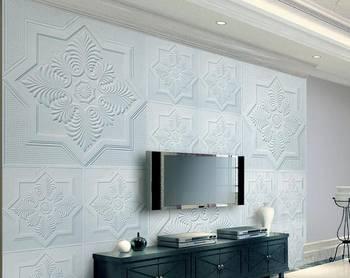 新房装修,媳妇为省钱竟用石膏线做电视背景墙,入住后发现太美了