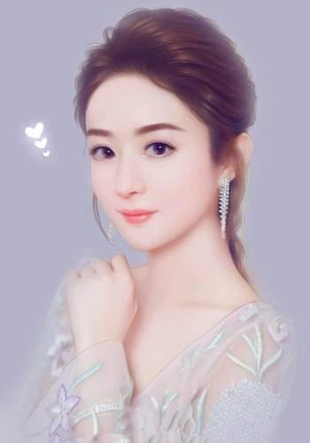 原以为赵丽颖的手绘照片够美了,直到看见迪丽热巴!