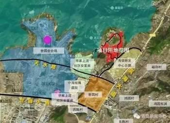 2017最新版青岛拆迁地图出炉