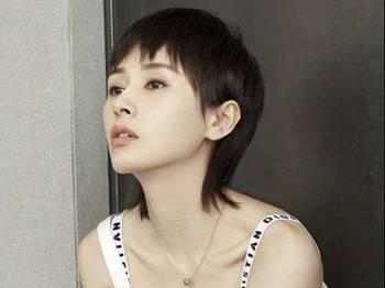 佟丽娅短发怎么剪的分享展示图片
