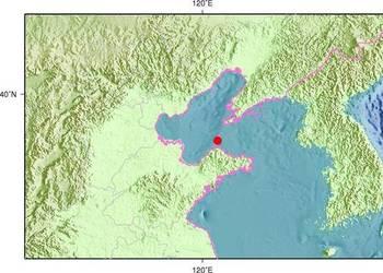 4月8日2时8分山东烟台市长岛县海域发生3.1级地震