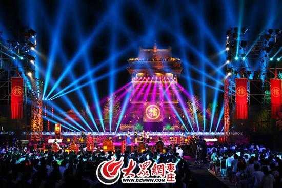 山西卫视《歌从黄河来》台儿庄古城现场直播
