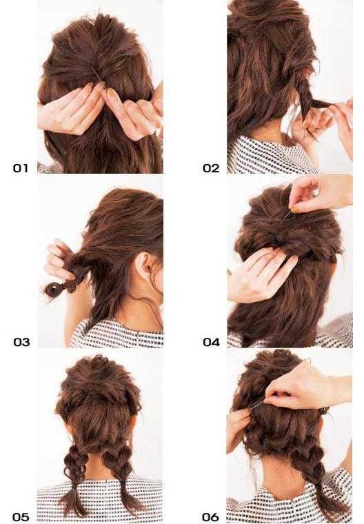甜美女孩最爱 小公主盘发,看似复杂的发型其实是意想不到的简单哦!
