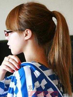 中学生女生发型名称 时尚清纯小美女图片