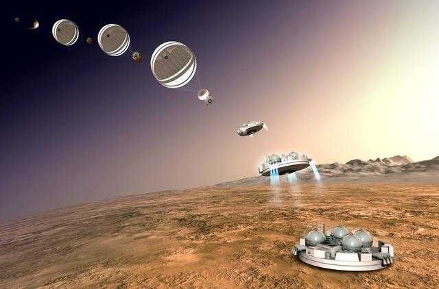 火星登陆_欧空局:火星登陆器着陆发生异常 发动机过早熄火