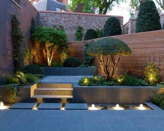飞墨君不想说的太复杂,今天就来说说现代风格的庭院设计.图片