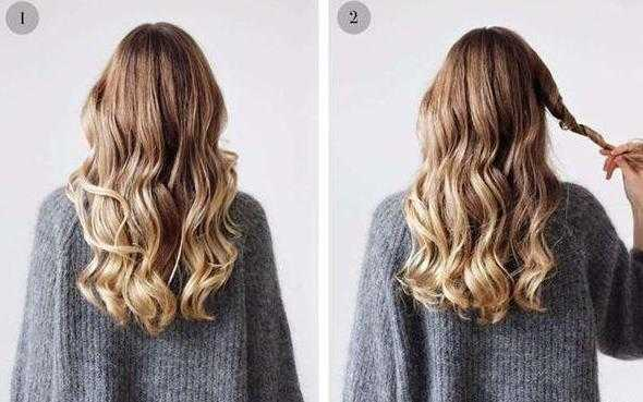发型一: 烫过卷发的妹子可以试试这款扎发,搭配金属发饰更吸睛.图片