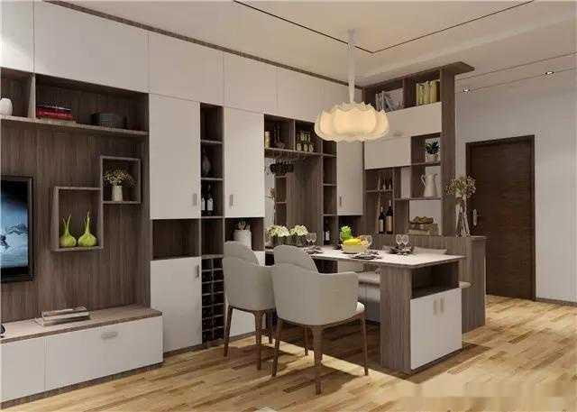 以下是几款现代时尚的客厅酒柜设计效果图方案,相信总有一款适合你家