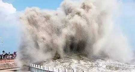 钱塘江大潮——世界三大涌潮之一,国内最大潮水.