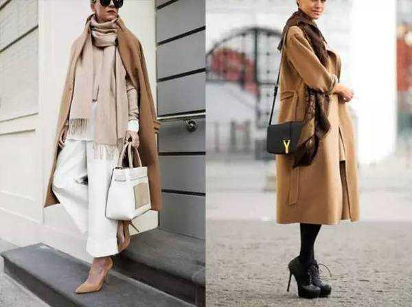 各种颜色的大衣应该搭配什么围巾才能御寒又时髦?