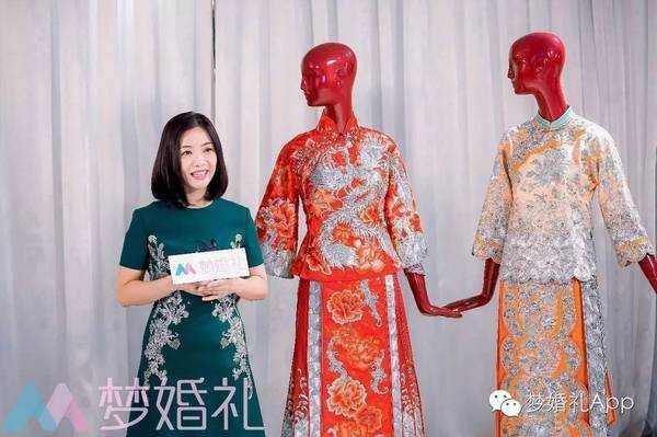 郭培为其设计的嫁衣屡现报端,得益于这些一线女星的带动,新一轮中式图片