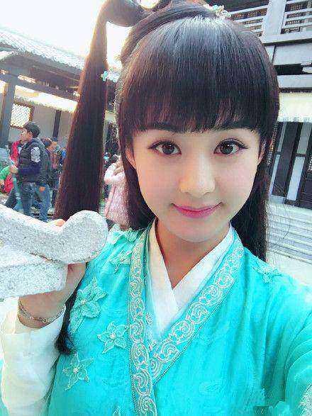 留齐刘海最美的八大女星,赵丽颖第二,没人敢说第一图片