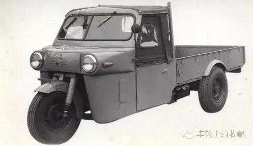 上海客车厂基于解放载货车底盘试制出57型