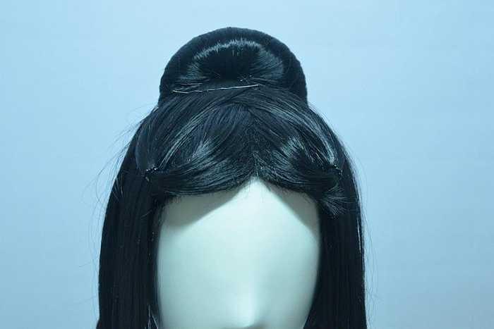 古装妹子通用的假发cos发型图片
