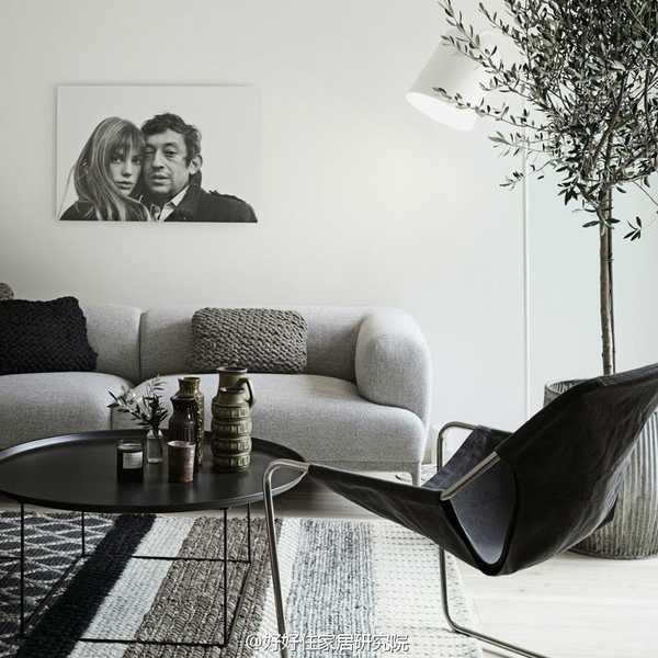 不用费心搭配清洗,选个浅灰色沙发就能搞定(多图)