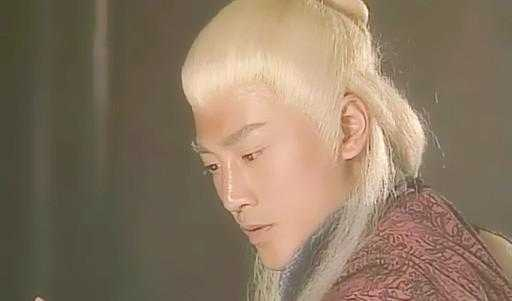 十大惊艳古装白发美男