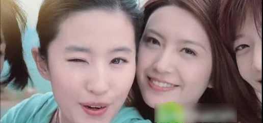 组图:天仙一眨眼心脏都颤抖刘亦菲wink超可爱